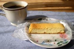 ティオグラトンのチーズケーキ
