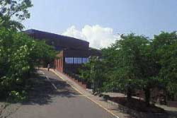 東北福祉大キャンパス入り口から見た入道雲?
