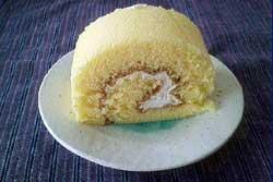 たまご舎のロールケーキ