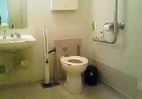 仙台市福祉プラザ12階のひろびろトイレ