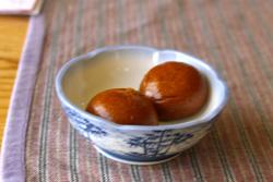 仙台市若林区「杏樹庵」の10円饅頭