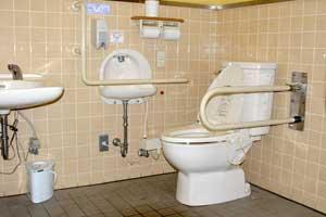 道の駅 三本木やまなみの多目的トイレ