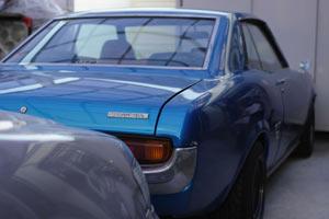 我が家のガレージに息づく 昭和51年製 トヨタ セリカ 1600GT