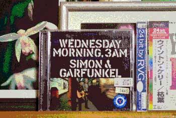サイモンとガーファンクル『水曜の朝、午前3時』のCDジャケット